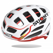 Suomy gun wind S-line team casque de vélo blanc rouge