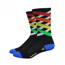 Defeet aireator high top chaussettes crossing multi