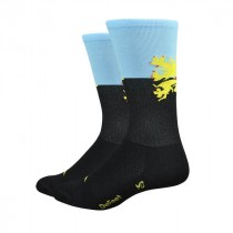 Defeet aireator high top chaussettes lions roar