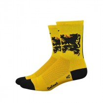 DEFEET Sock Aireator Double Cuff Hi-Top Lion Of Flanders