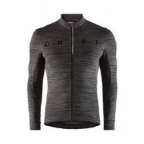 Craft reel thermal maillot de cyclisme manches longues noir