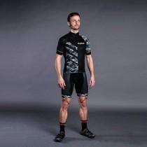 Gripgrab race maillot de cyclisme manches courtes gris camo
