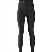 Gore Wear Progress Thermo Tights+ Womens - Black/Neon Yellow