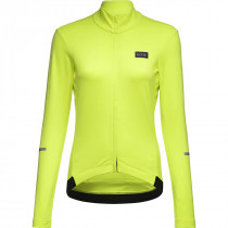 Gore Wear Progress Thermo Jersey Womens - Neon Yellow