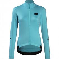 Gore Wear Progress Thermo Jersey Womens - Scuba Blue