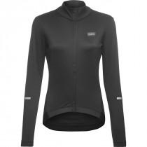 Gore Wear Progress Thermo Jersey Womens - Black