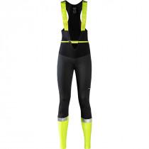 Gore Wear Ability Thermo Bib Tights+ Womens - Black/Neon Yellow