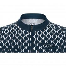 Gore Wear Hakka Jersey Womens - Orbit Blue/White
