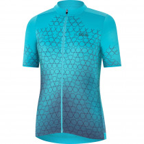 Gore Wear Curve Jersey Womens - Scuba Blue