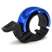 Knog Oi small bike bell limited edition black blue