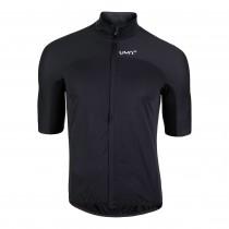 Uyn biking alpha rain veste de cyclisme noir raven