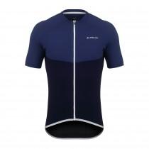 De Marchi leggera maillot de cyclisme manches courtes bleu