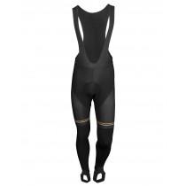 Vermarc les coureurs cuissard de cyclisme longues à bretelles noir
