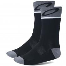 Oakley cycling chaussettes de cyclisme blackout noir