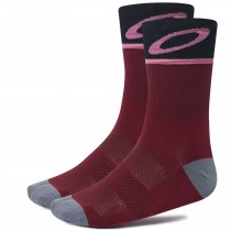 Oakley cycling chaussettes de cyclisme vampirella rouge