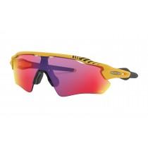 Oakley radar ev path fietsbril Tour de France mat geel - prizm road lens