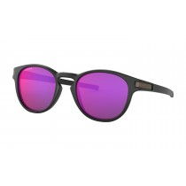 Oakley latch zonnebril mat zwart - prizm road lens