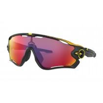 Oakley jawbreaker fietsbril Tour de France mat zwart - prizm road lens