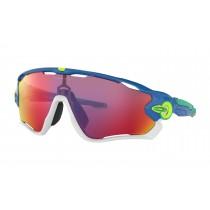 Oakley jawbreaker fietsbril sapphire - prizm road lens