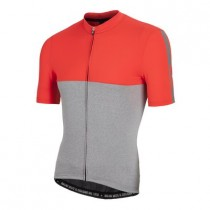 NALINI Mantova Jersey SS Orange Grey