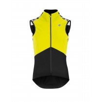 Assos mille gt spring/fall airblock gilet coupe-vent fluo jaune