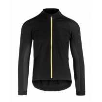 Assos mille gt spring/fall veste de cyclisme noir jaune badge