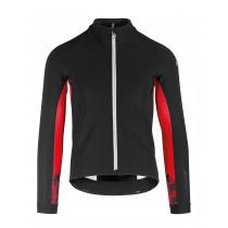 Assos mille gt winter veste de cyclisme blackseries noir national rouge