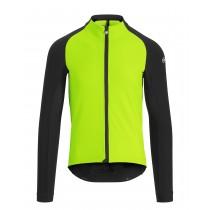 Assos mille gt winter veste de cyclisme visibility vert