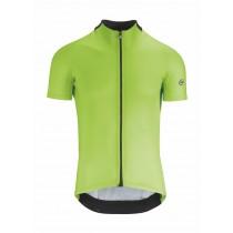 Assos mille GT maillot de cyclisme manches courtes visibility vert