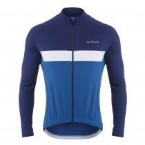 De Marchi monza roubaix light maillot de cyclisme manches longues navy royal bleu