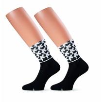 Assos monogram evo 8 chaussettes noir
