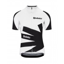 Assos Qhubeka moving forward maillot de cyclisme à manches courtes noir