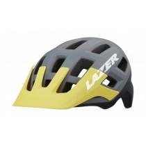 Lazer coyote VTT casque de cyclisme gris mat jaune
