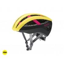 Smith network mips casque de cyclisme citron peony