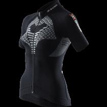 X-Bionic twyce biking maillot de cyclisme manches courtes femme noir blanc