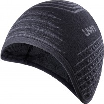 Uyn fusyon unisex ear bonnet noir anthracite