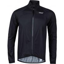 Uyn alpha biking packable waterproof veste imperméable noir argent