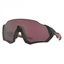 Oakley flight jacket fietsbril ignite mat zwart - prizm road black lens