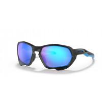Oakley Oakley Plazma Bril Matte Black - Prizm Sapphire Polar