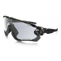 Oakley jawbreaker fietsbril polished zwart - photochromic lens