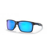 Oakley Portal X Bril Polished Black - Prizm Sapphire