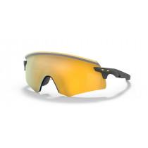 Oakley Encoder Bril Matte Carbon - Prizm 24K