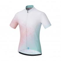 Shimano sumire maillot de cyclisme manches courtes femme blanc