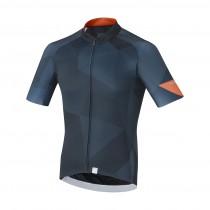 Shimano breakaway maillot de cyclisme manches courtes navy