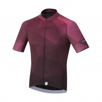 Shimano breakaway maillot de cyclisme manches courtes violet