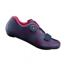 Shimano rp501 femme chaussures route navy dot