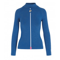Assos Assosoires Women'S Ultraz Winter Ls Skin Layer - Calypso Blu
