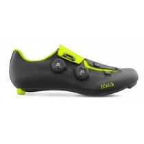 Fizik aria R3 chaussures route noir jaune fluorescent