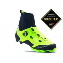Northwave raptor arctic GTX chaussures vtt jaune fluorescent