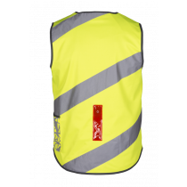 WOWOW Roadie Vest With Led Yellow Fluo